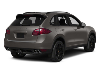 Meteor Grey Metallic 2013 Porsche Cayenne Pictures Cayenne Utility 4D Turbo AWD (V8) photos rear view