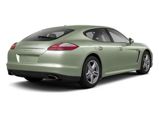 Crystal Green Metallic 2013 Porsche Panamera Pictures Panamera Hatchback 4D GTS AWD photos rear view