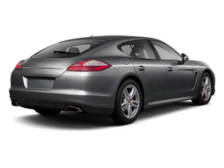 Agate Grey Metallic 2013 Porsche Panamera Pictures Panamera Hatchback 4D GTS AWD photos rear view