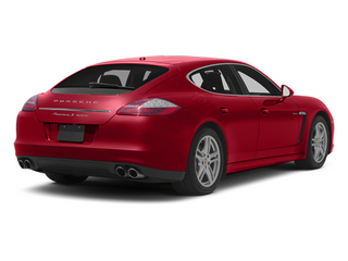 Ruby Red Metallic 2013 Porsche Panamera Pictures Panamera Hatchback 4D S Hybrid photos rear view