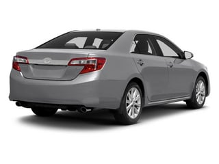 Classic Silver Metallic 2013 Toyota Camry Pictures Camry Sedan 4D XLE V6 photos rear view