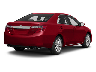 Barcelona Red Metallic 2013 Toyota Camry Pictures Camry Sedan 4D XLE V6 photos rear view