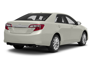 Champagne Mica 2013 Toyota Camry Pictures Camry Sedan 4D XLE V6 photos rear view