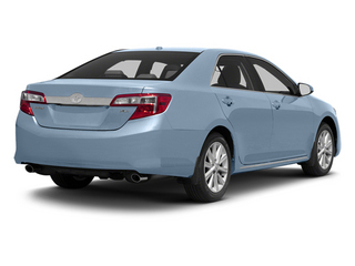 Clearwater Blue Metallic 2013 Toyota Camry Pictures Camry Sedan 4D XLE V6 photos rear view