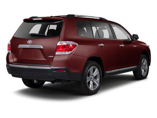 Sizzling Crimson Mica 2013 Toyota Highlander Pictures Highlander Utility 4D 2WD I4 photos rear view