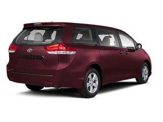 Salsa Red Pearl 2013 Toyota Sienna Pictures Sienna Wagon 5D LE AWD V6 photos rear view