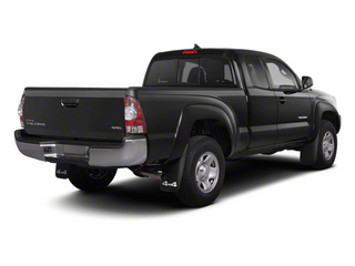 Magnetic Gray Metallic 2013 Toyota Tacoma Pictures Tacoma Base Access Cab 4WD V6 photos rear view