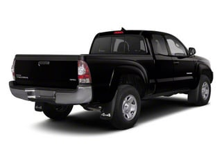 Black 2013 Toyota Tacoma Pictures Tacoma Base Access Cab 4WD V6 photos rear view