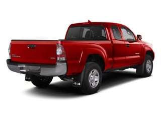 Barcelona Red Metallic 2013 Toyota Tacoma Pictures Tacoma Base Access Cab 4WD V6 photos rear view