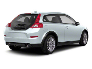 Ice White 2013 Volvo C30 Pictures C30 Hatchback 3D I5 Turbo photos rear view
