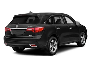Crystal Black Pearl 2014 Acura MDX Pictures MDX Utility 4D 2WD V6 photos rear view