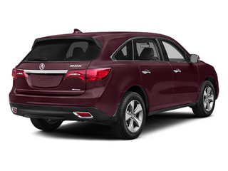 Dark Cherry Pearl 2014 Acura MDX Pictures MDX Utility 4D AWD V6 photos rear view