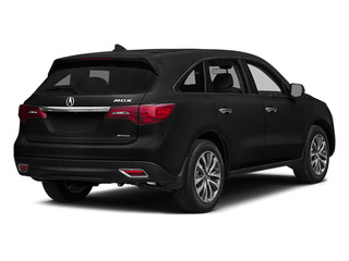 Crystal Black Pearl 2014 Acura MDX Pictures MDX Utility 4D Technology DVD AWD V6 photos rear view