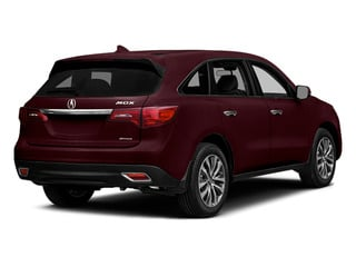 Dark Cherry Pearl 2014 Acura MDX Pictures MDX Utility 4D Technology DVD AWD V6 photos rear view