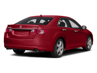 Milano Red 2014 Acura TSX Pictures TSX Sedan 4D I4 photos rear view
