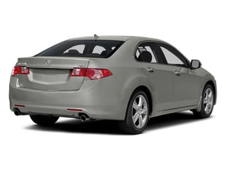 Silver Moon 2014 Acura TSX Pictures TSX Sedan 4D I4 photos rear view