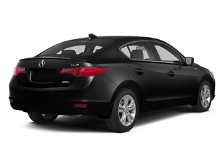 Crystal Black Pearl 2014 Acura ILX Pictures ILX Sedan 4D Hybrid Technology I4 photos rear view