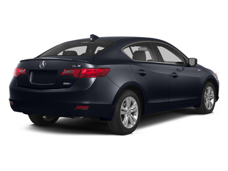 Fathom Blue Pearl 2014 Acura ILX Pictures ILX Sedan 4D Hybrid Technology I4 photos rear view