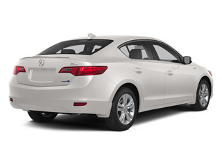 Bellanova White Pearl 2014 Acura ILX Pictures ILX Sedan 4D Hybrid Technology I4 photos rear view