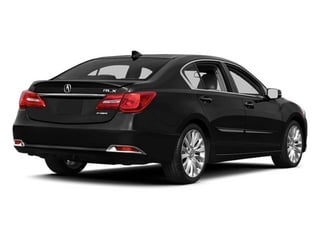 Crystal Black Pearl 2014 Acura RLX Pictures RLX Sedan 4D Technology V6 photos rear view