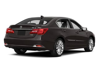 Graphite Luster Metallic 2014 Acura RLX Pictures RLX Sedan 4D Technology V6 photos rear view