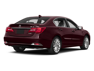 Pomegranate Pearl 2014 Acura RLX Pictures RLX Sedan 4D Technology V6 photos rear view
