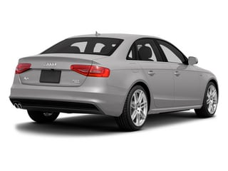 Cuvee Silver Metallic 2014 Audi A4 Pictures A4 Sedan 4D 2.0T Prestige AWD photos rear view