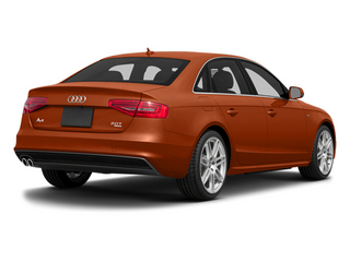 Volcano Red Metallic 2014 Audi A4 Pictures A4 Sedan 4D 2.0T Prestige AWD photos rear view