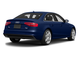 Scuba Blue Metallic 2014 Audi A4 Pictures A4 Sedan 4D 2.0T Prestige AWD photos rear view