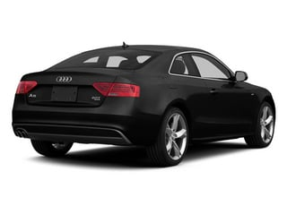 Phantom Black Pearl Effect 2014 Audi A5 Pictures A5 Coupe 2D Prestige AWD photos rear view