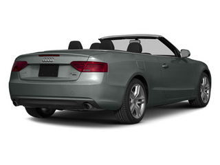 Monsoon Gray Metallic/Black Roof 2014 Audi A5 Pictures A5 Convertible 2D Premium 2WD photos rear view