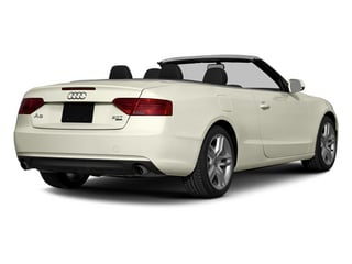 Glacier White Metallic/Black Roof 2014 Audi A5 Pictures A5 Convertible 2D Prestige AWD photos rear view