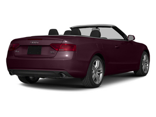 Shiraz Red Metallic/Black Roof 2014 Audi A5 Pictures A5 Convertible 2D Premium AWD photos rear view