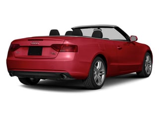 Brilliant Red/Black Roof 2014 Audi A5 Pictures A5 Convertible 2D Premium 2WD photos rear view