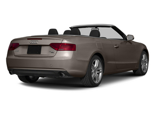 Dakota Gray Metallic/Black Roof 2014 Audi A5 Pictures A5 Convertible 2D Premium 2WD photos rear view