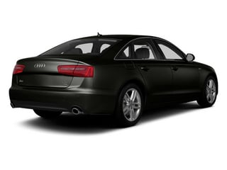 Havanna Black Metallic 2014 Audi A6 Pictures A6 Sedan 4D 2.0T Premium Plus AWD photos rear view