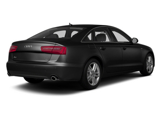 Brilliant Black 2014 Audi A6 Pictures A6 Sedan 4D 2.0T Premium Plus 2WD photos rear view