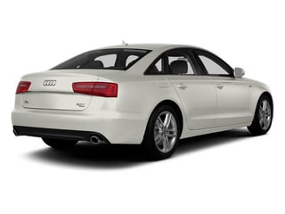Ibis White 2014 Audi A6 Pictures A6 Sedan 4D 2.0T Premium Plus AWD photos rear view