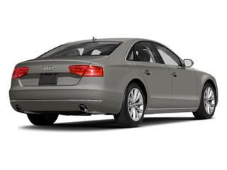 Quartz Gray Metallic 2014 Audi A8 Pictures A8 Sedan 4D 4.0T AWD V8 Turbo photos rear view