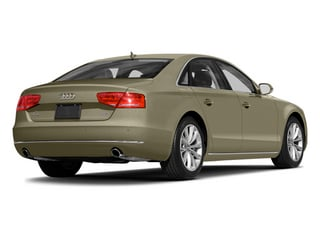 Savana Beige Pearl Effect 2014 Audi A8 Pictures A8 Sedan 4D 4.0T AWD V8 Turbo photos rear view
