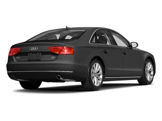 Moonlight Blue Metallic 2014 Audi A8 Pictures A8 Sedan 4D 4.0T AWD V8 Turbo photos rear view
