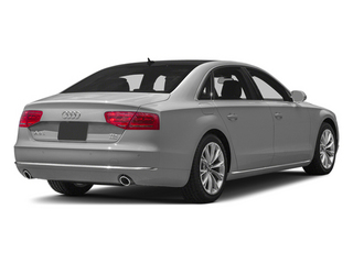 Ice Silver Metallic 2014 Audi A8 L Pictures A8 L Sedan 4D 3.0T L AWD V6 Turbo photos rear view