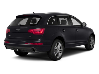 Orca Black Metallic 2014 Audi Q7 Pictures Q7 Utility 4D 3.0 Prestige S-Line AWD photos rear view