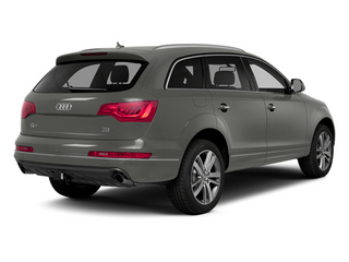 Graphite Gray Metallic 2014 Audi Q7 Pictures Q7 Utility 4D 3.0 Prestige S-Line AWD photos rear view