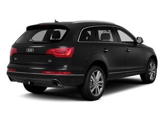 Night Black 2014 Audi Q7 Pictures Q7 Utility 4D 3.0 Prestige S-Line AWD photos rear view