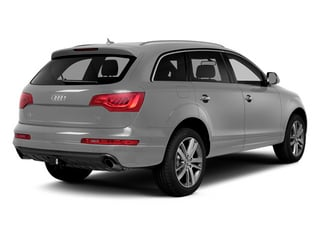 Ice Silver Metallic 2014 Audi Q7 Pictures Q7 Utility 4D 3.0 Prestige S-Line AWD photos rear view