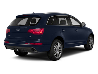 Atlantis Blue Metallic 2014 Audi Q7 Pictures Q7 Utility 4D 3.0 Prestige S-Line AWD photos rear view