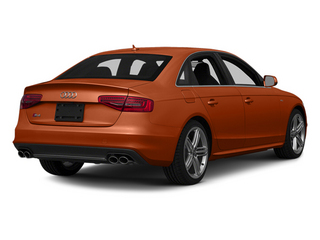 Volcano Red Metallic 2014 Audi S4 Pictures S4 Sedan 4D S4 Prestige AWD photos rear view