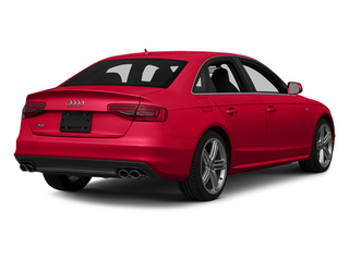 Misano Red Pearl Effect 2014 Audi S4 Pictures S4 Sedan 4D S4 Prestige AWD photos rear view