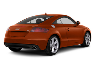 Volcano Red Metallic 2014 Audi TT Pictures TT Coupe 2D AWD photos rear view